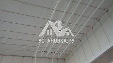 Монтаж потолочных сушилок для белья