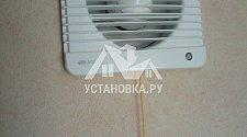 установка вентилятора на кухне