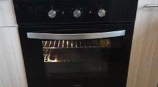 Установить электрический духовой шкаф Hyundai HEO 6630 BG