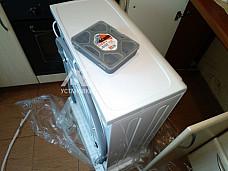 Подключить стиральную машину соло Indesit IWUB 4085 на кухне
