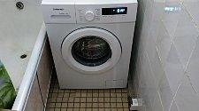 Стандартная установка стиральной машины соло