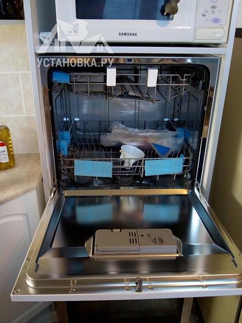 Установить на кухне компактную посудомоечную машину Candy