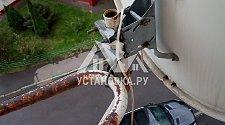 Демонтировать спутниковые терелки