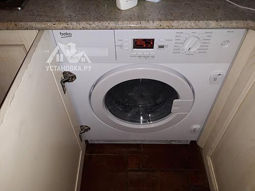 Подключить стиральную машину встраиваемую в районе Щукинской