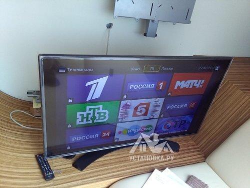 Настроить телевизор LG 43LH604V