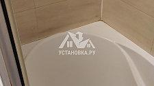 заменить герметик на стуке ванны и стены