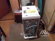 Установить стиральную машину ZANUSSI ZWQ61225WI