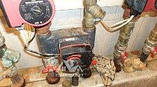 Установка гидроаккумулятора  до 100 литров.