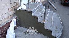 Работа по облицовке ступенек плиткой