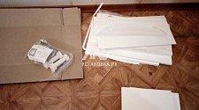 Демонтировать навесную раковину и установить тумбочку с раковиной