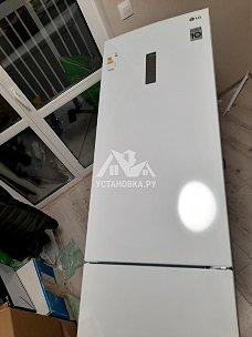 Установить отдельностоящий холодильник LG