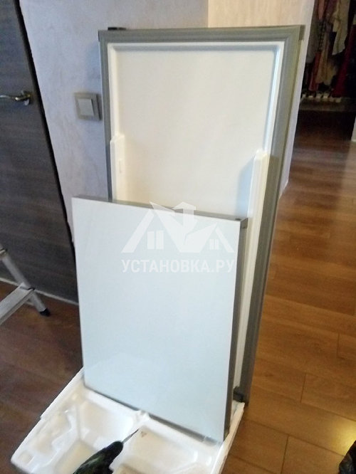 Установка холодильника Bosch
