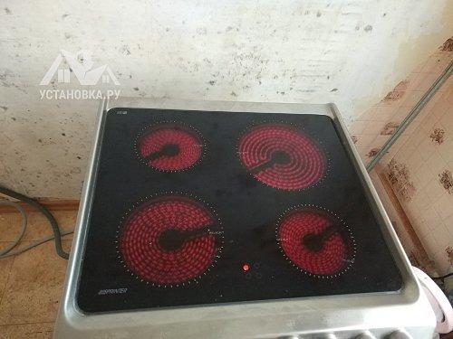Установить электрическое Candy Trio на кухне