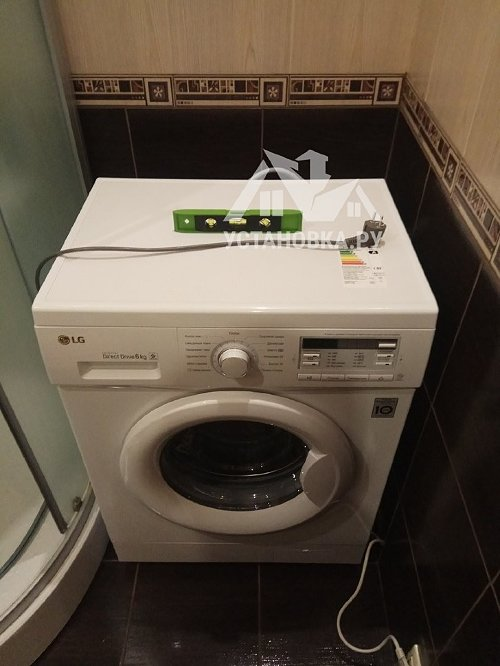 Установить новую стиральную машину на готовые коммуникации