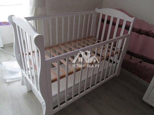 Собрать детскую кроватку  Кубаночка-6