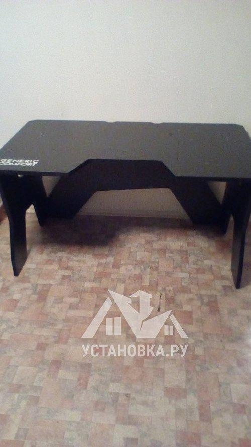 Собрать компьютерный стол DXRacer