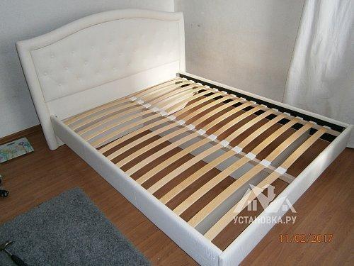 Собрать двуспальную кровать Адель