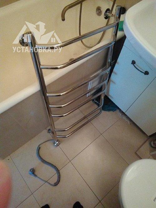 Установить и подключить электрический полотенцесушитель