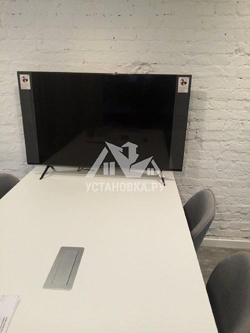 Установить телевизор самсунг диагональю до 60 дюймов на кронштейн