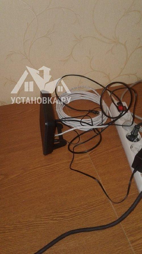 Проложить интернет кабель до роутера