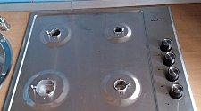 Штатное подключение газовой варочной панели