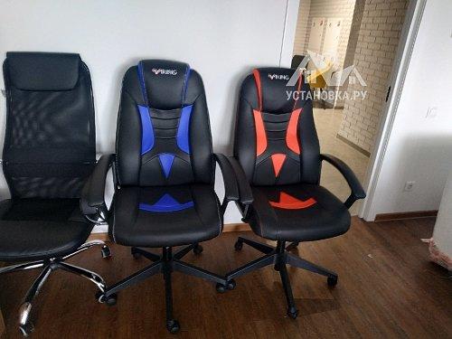 Собрать компьютерное кресло Зомби-Викинг 8