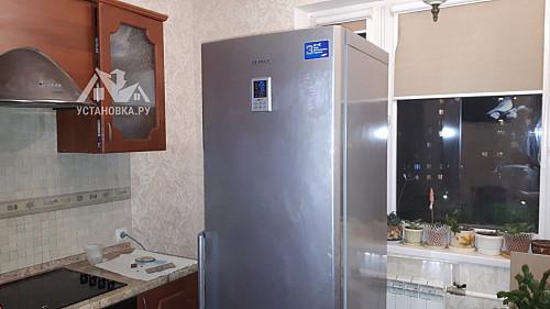 Перевесить двери на отдельно стоящем холодильнике Samsung