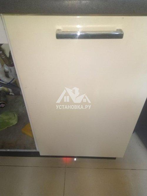 Установить встраиваемую посудомоечную машину Электролюкс
