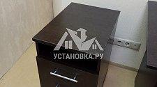 Собрать офисный стол с подстольной тумбой