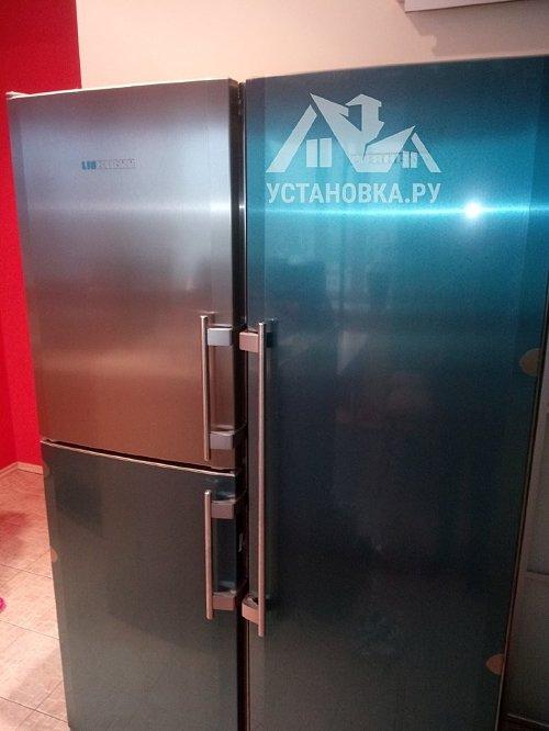 Установить холодильник сайд-бай-сайд Liebherr SBSes 7353