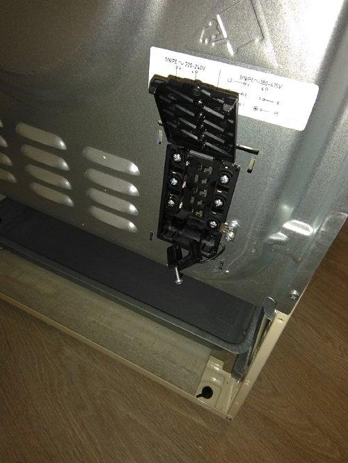 Подключить плиту электрическую Gorenje EC 53 INI
