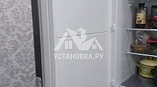 Установить отдельностоящий холодильник LG GA-B509BLGL