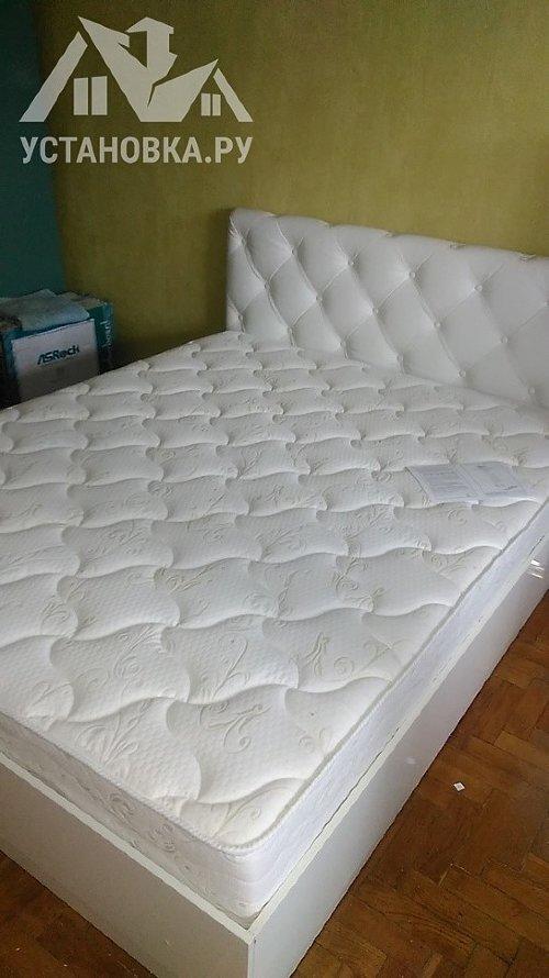 Собрать набор мебели для спальни