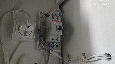 Продиагностировать электроподключение посудомоечной машины