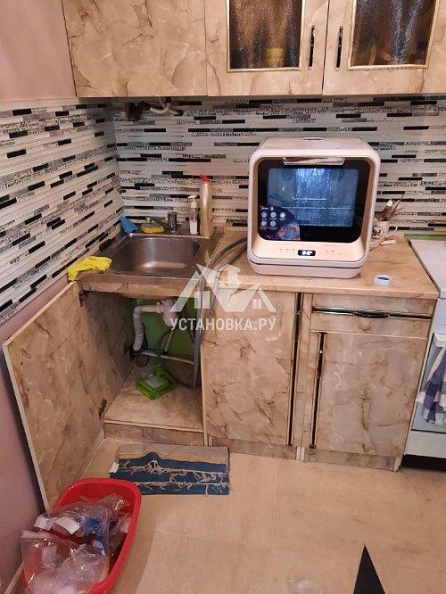 Установить посудомоечную машину соло Midea MCFD42900 G MINI