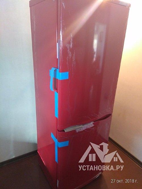 Установить отдельностоящий холодильник Атлант ХМ 4012-030