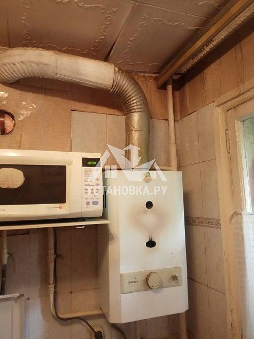 Демонтировать и установить газовую колонку Занусси