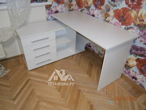 Собрать компьютерный стол КСТ-109Л