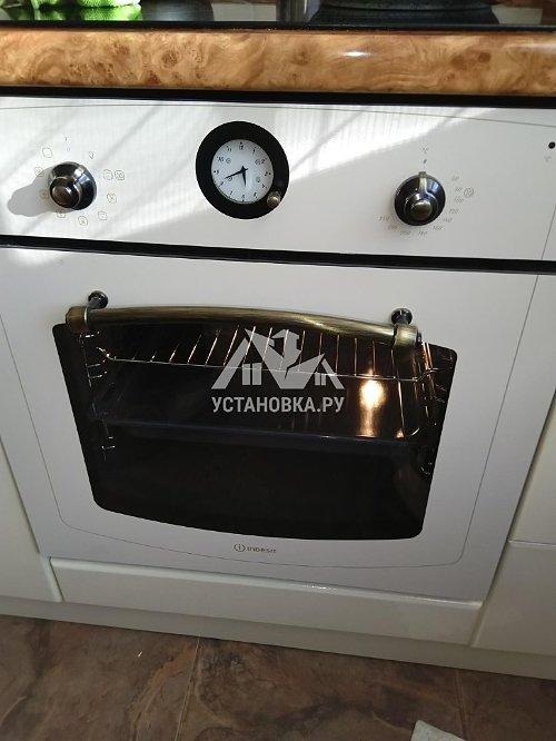Установить духовой шкаф электрический