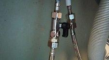 Установить смеситель и установить фильтр