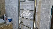 Установить полотенцесушитель в ванной