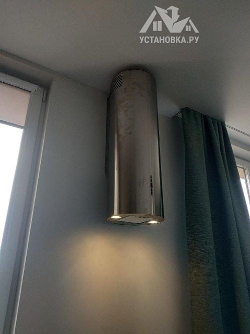 Установить купольную пристенную вытяжку Weissgauff Tubus 90 IX