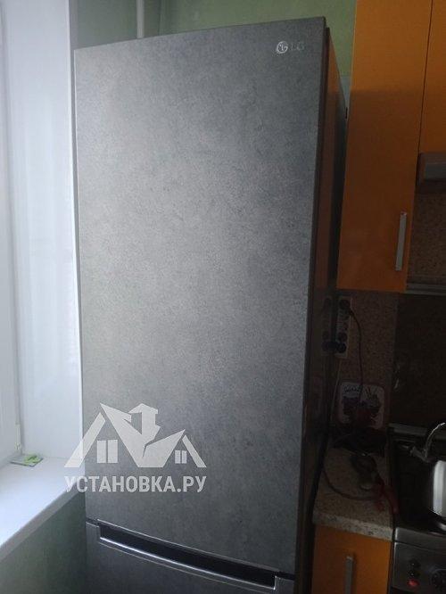 Перевесить двери на отдельно стоящем холодильнике LG