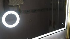Навесить зеркало с подсветкой