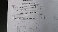Сборка стола