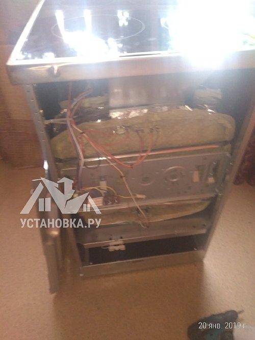 Установить новую электрическую плиту Zanussi