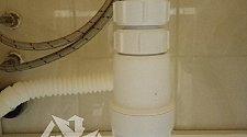 Установить смеситель на раковину в ванной комнате