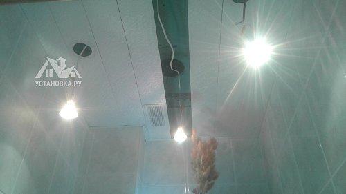 Продиагностировать электрику в ванной