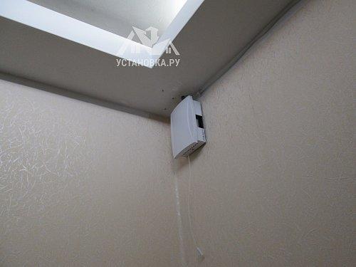 Установить дверной звонок проводной
