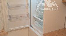 Перевесить двери на отдельно стоящем холодильнике дисплеем